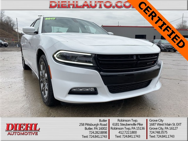 Pre Owned 2017 Dodge Charger Sxt 4d Sedan In Butler 19d0203a