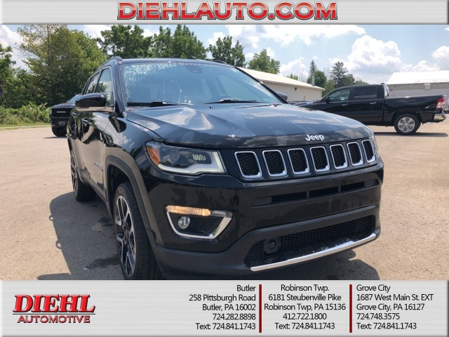 Pre-Owned 2017 Jeep New Compass Limited